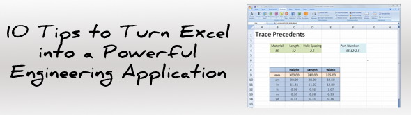 10 Excel Tips for Engineers